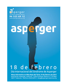 Poster of a man with Asperger's Syndrome