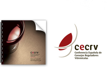 Logo and corporate identity manual for CECRV