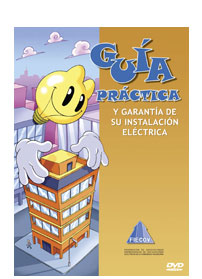 Front cover of a DVD with a lightbulb mascot